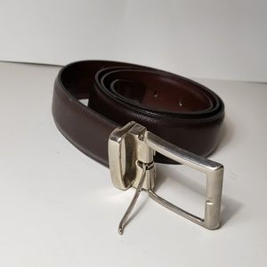 Designer vtg Ysl brown leather belt